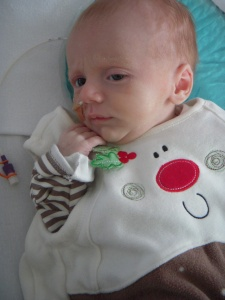 Samuel the Christmas pudding