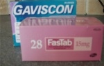 Gaviscon & Lansorprozole: Medicines given every day for Sam's reflux